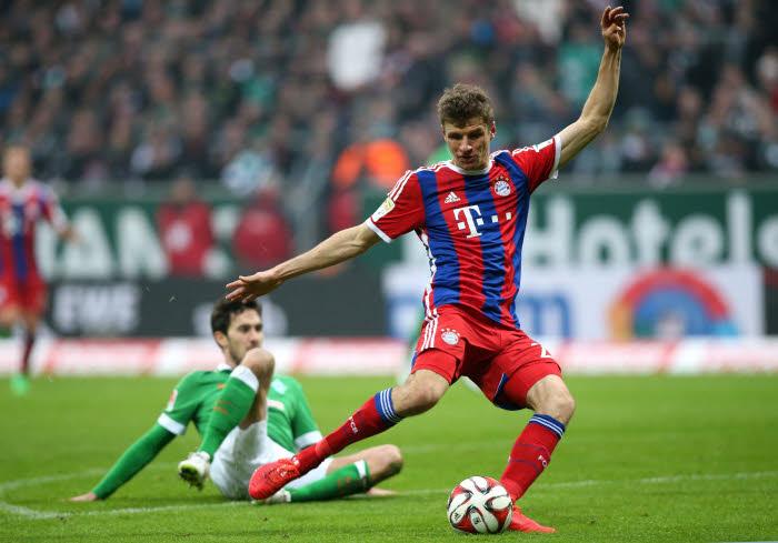 Thomas Muller a dominé les débats et le Bayern Munich a littéralement marché sur le Werder à Brême.