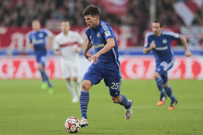Distancés dans le course à l'Europe, Klaas Jan Huntelaar et Schalke 04 donneront tout contre Wolfsburg.