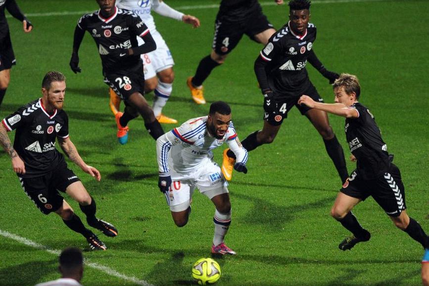 Les dix dernières confrontations entre Reims et Lyon