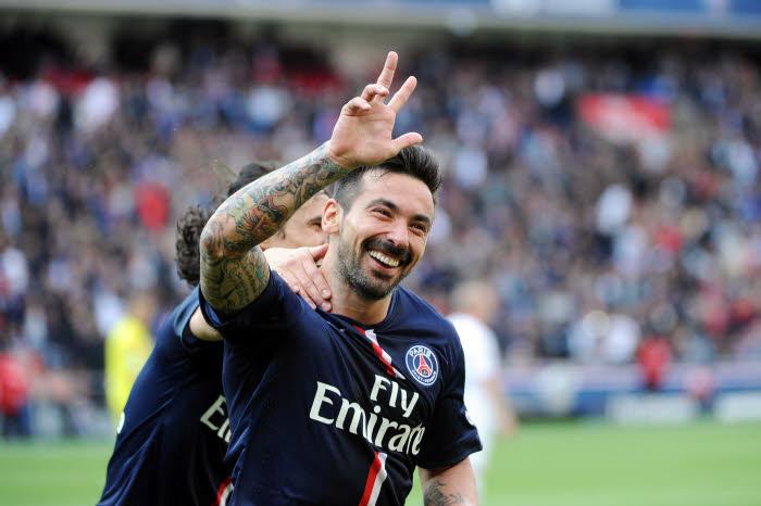 L'efficacité retrouvée de Lavezzi, triple buteur contre Lille, tombe à point nommé pour le Paris SG !