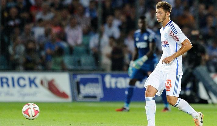 Le défenseur central de l'Olympique de Marseille Stéphane Sparagna