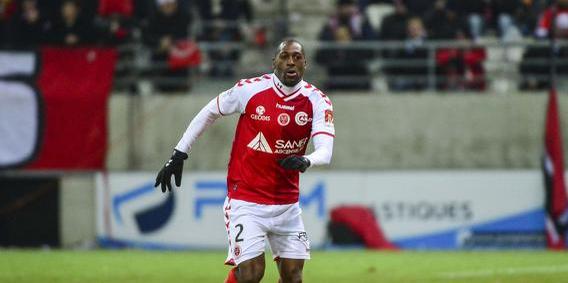 Le défenseur du Stade de Reims Mohamed Fofana