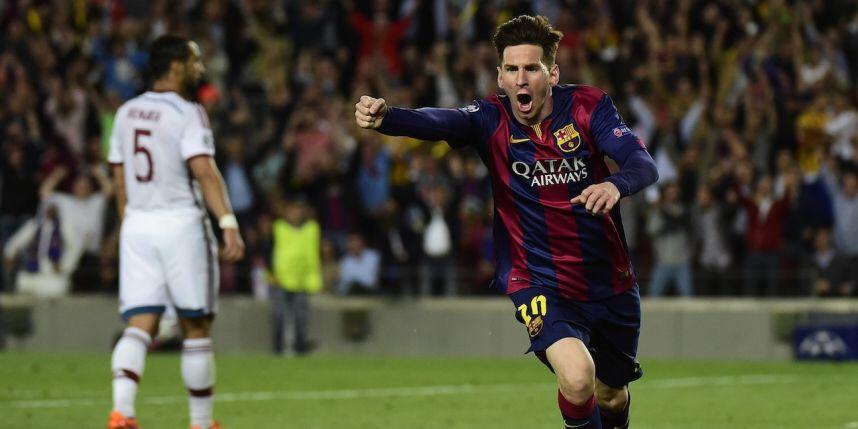 Messi a fortement contribué à la victoire des Blaugranas ce soir contre le Bayern