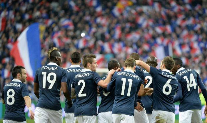 L'équipe de France en 11e position du classement FIFA du mois de mai