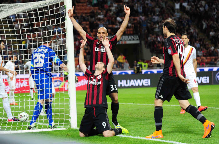 Un miracle? C'est ce que semblent penser Alex et Mattia Destro, les Milanais, vainqueurs de l'AS Rome.