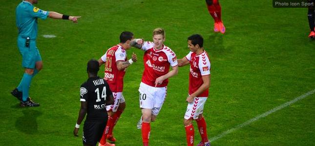 Reims assure son maintien en Ligue 1 en s'imposant contre Rennes