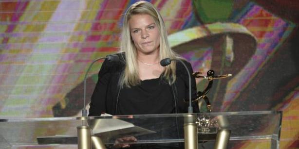 Eugénie Le Sommer remporte le titre de meilleure joueuse de la saison