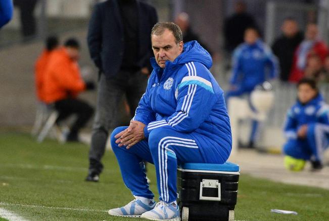 L'entraîneur de Marseille Marcelo Bielsa
