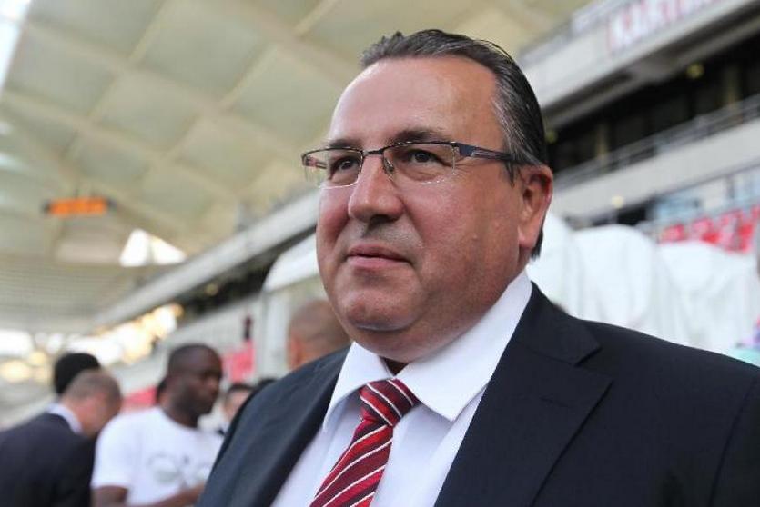 Le président du Stade de Reims Jean-Pierre Caillot