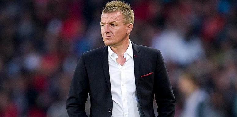 L'entraîneur de Reims Olivier Guégan