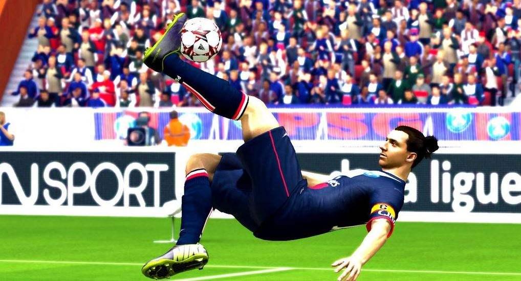 PSG 4 - AJA 1 … C'est FIFA 15 qui le dit