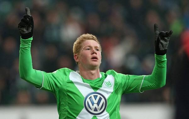 De Bruyne; meilleur joueur de Bundesliga