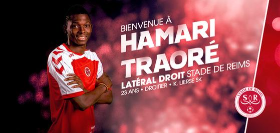 Off : Hamari Traoré au Stade de Reims