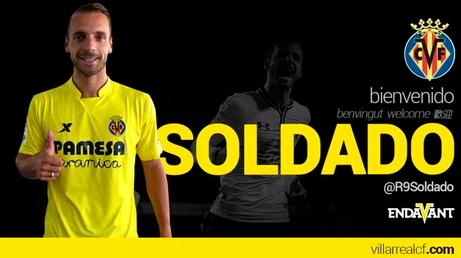 Officiel : Roberto Soldado à Villarreal