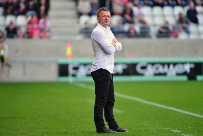 Stade de Reims-Olivier Guégan  : « On va garder les pieds sur terre »