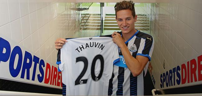 Officiel : Florian Thauvin à Newcastle