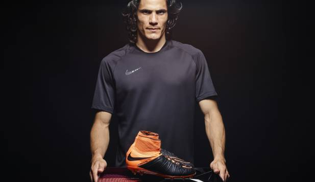 Nike Hypervenom Tech Craft : impressions d'Edinson Cavani