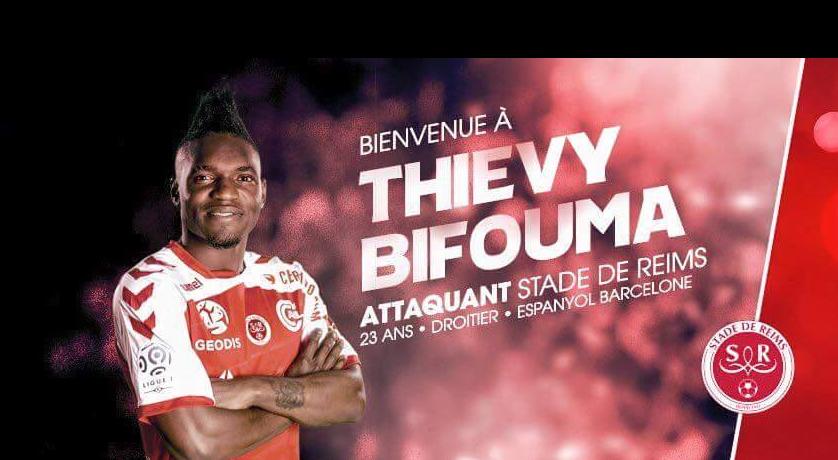 Un attaquant international congolais au Stade de Reims (officiel)