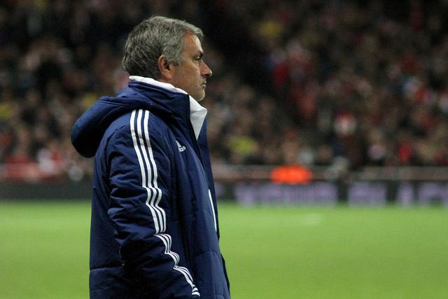 Mourinho ( crédit photo Ronnie Macdonald )