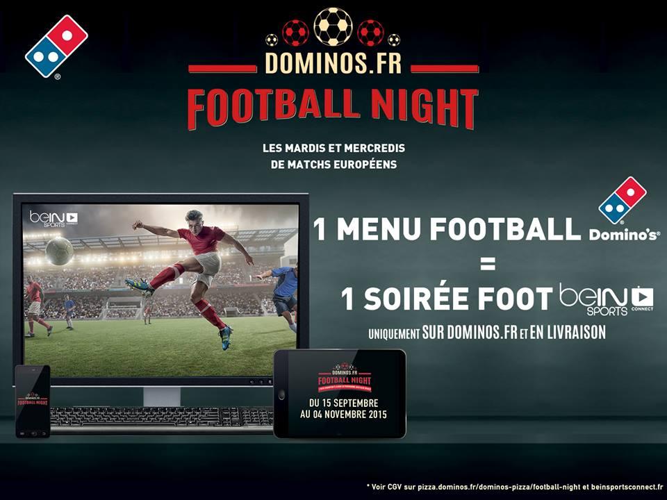 Domino's Pizza France relance une offre exclusive digitale en partenariat avec beIN SPORTS.