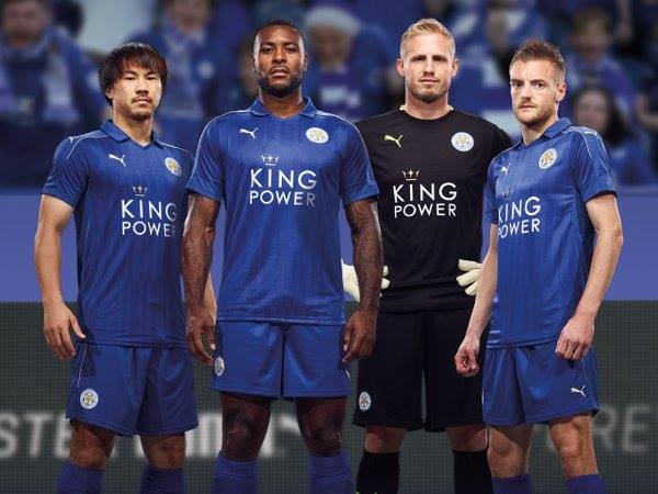 Le nouveau maillot de Leicester dévoilé !