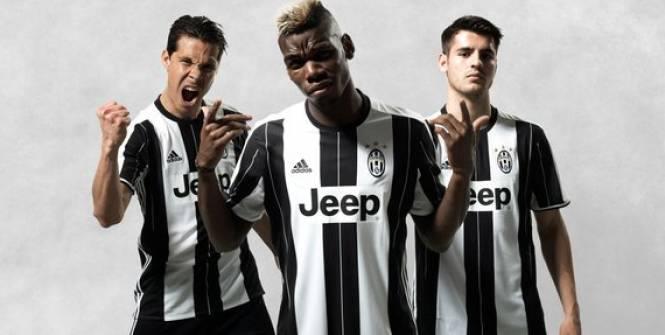 Le nouveau maillot de la Juventus entre en scène !