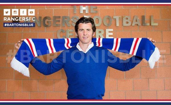 Joey Barton signe en Écosse