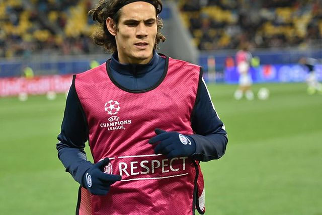 Edinson Cavani ( crédit photo Football.ua )