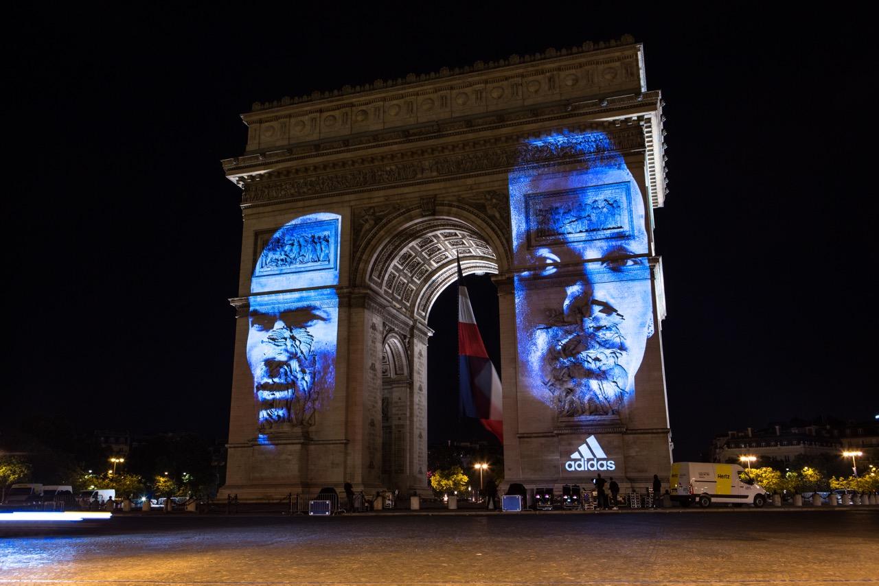 adidas: « Les légendes ne suivent personne. Une finale pour écrire sa propre histoire. »