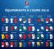 Les tenues des sélections pour l'EURO 2016