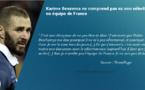 Benzema ne comprend pas sa non sélection en équipe de France