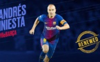 Mercato Barça : le Tianjin Quanjian offre un pont d'or à Andres Iniesta