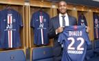 Le nouveau défenseur du PSG, Abdou Diallo - Crédit : Site officiel du PSG