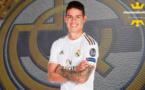 Real Madrid - Mercato : James Rodriguez signe à Everton (officiel)