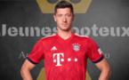 Bayern Munich -  Lazio Rome : Robert Lewandowski fan d'un ancien attaquant français