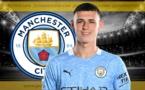 Manchester City - Mercato : 190,2M€ pour Phil Foden !