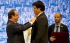 Souza Vieira Rai, obtient la légion d'honneur