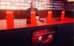 La conférence de presse de Rio Mavuba et René Girard  avant Lille-Reims