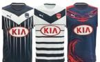 Les nouveaux maillots des Girondins de Bordeaux dévoilés
