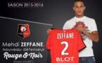 Officiel :  Mehdi Zeffane à Rennes