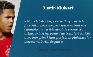 Le PSG ne fait pas rêver le fils de Patrick Kluivert