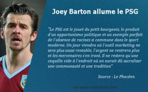 Joey Barton allume le PSG