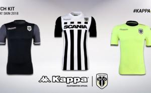 Angers dévoile ses nouveaux maillots saison 2017/2018