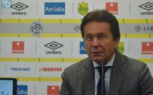 FC Nantes : Waldemar Kita tape du poing sur la table