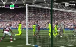 West Ham - Liverpool : L'incroyable raté d'André Ayew