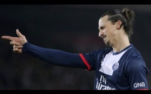 PSG : Edinson Cavani élogieux à l'égard de Zlatan Ibrahimovic