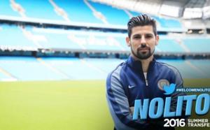 Mercato : Nolito veut quitter Manchester City
