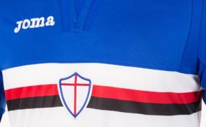 Maillot domicile de la Sampdoria, saison 2017-2018