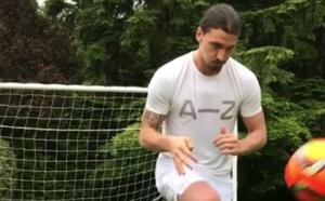 Manchester United : Zlatan Ibrahimovic a déjà retouché le ballon !