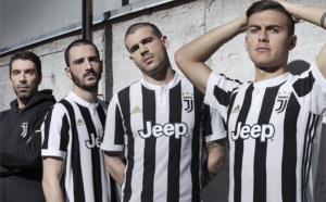 Maillot domicile de la Juventus saison 2017/2018